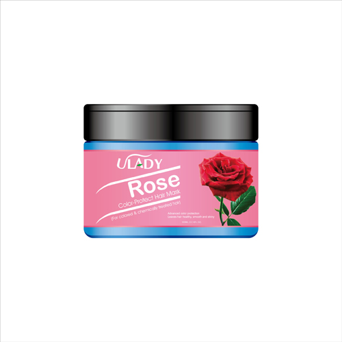 ULADY Rose Color Protect Hair Mask (For colored & chemically treated hair)